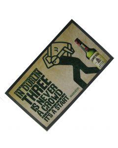 Whisky Jameson Small Wetstop Bar Runner. 45x22cm - New