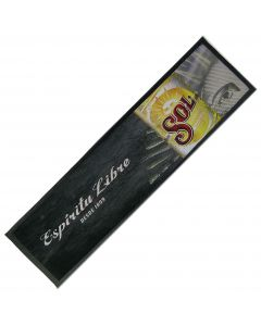 Sol The Original Mexican Beer Small Wetstop Bar Rubber Runner. 29x24cm - New