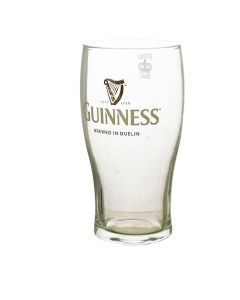 Guinness Tulip Pub Pint Glass - CE Stamped - New