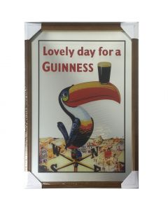 Guinness Large Mirror -Toucan