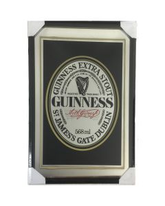 Guinness Label Large Mirror