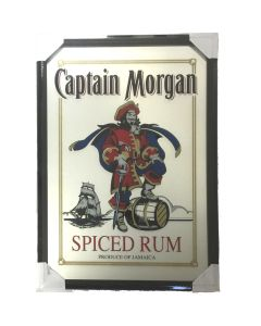 Captain Morgan Spiced Rum Large Mirror