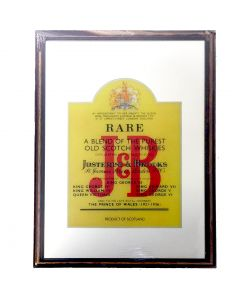 J & B Whisky Large Mirror