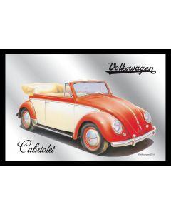 VW Cabriolet Small Mirror