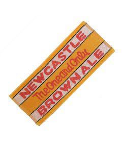 Newcastle Brown Ale 100% Cotton Bar Towel.52x22cm - New
