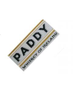 Paddy Irish Whiskey 100% Bar Towel. 52x22cm - New