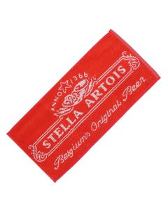Stella Artois Beer 100% Cotton Bar Towel 52x22cm - New