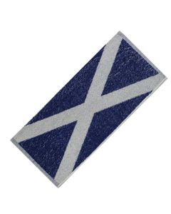 Scottish Flag 100% Cotton Bar Towel - 52x22cm - New